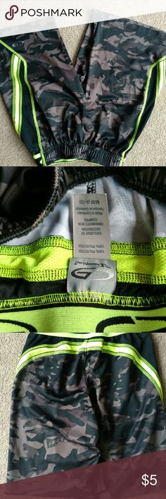 Boys shorts Black and gray and lime boys shorts still nice but logo showing wear bundle me for a great deal Bottoms Shorts