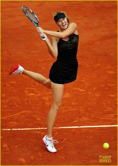 Maria Sharapova, tennis player, was born in Russia and moved to the US when she was 7.