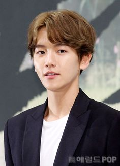 Baekhyun - 160824 'Scarlet Heart: Ryeo' press conference Credit: Herald POP…