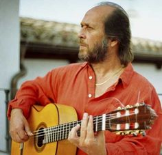 Paco De Lucia is perhaps the most advanced guitarist of any style or genre in the entire world.  He's just that good.    Top that off with a monster intelligence of a prime philosopher, and then you can well understand why the world is in awe of him.