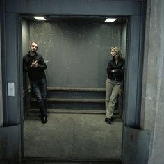 Jean Dujardin e Alexandra Lamy por Bruno Charoy