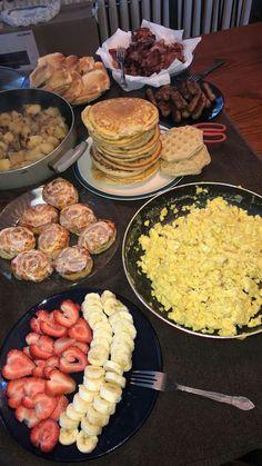 New Breakfast Bar Food Party 63 Ideas Breakfast Bar Food, Breakfast Recipes, Brunch Food, Brunch Party, Breakfast Muffins, Breakfast Burritos, Breakfast Bake, Breakfast Bowls, Sleepover Food
