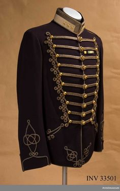 Officer's Dolman m/1895 for Colonel at the Life Regiment Hussars.