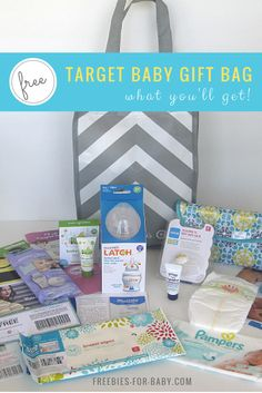 2015 Target Baby Registry Gift -  get over $70 worth of free baby stuff!  Go Here to see what's inside => http://freebies-for-baby.com/3870/2015-target-baby-registry-gift-bag-what-youll-get-inside/ #target #baby #freebies