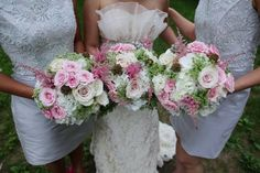 very pretty bouquets, just need to be more winter-y
