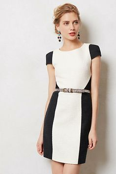 Rise & Set Ponte Dress - great for work #anthropologie #AnthroFave