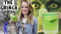How to make The Grinch Cocktail - Tipsy Bartender