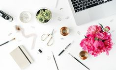 8 creative ways to stay inspired at the office | coffee, inspiration, office, office supplies, succulent, work, Wably.com