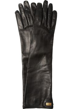 GucciNappa leather gloves