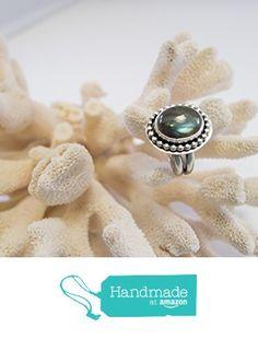 Labradorite Statement Ring ~ Sterling Silver ~ Women's Gifts ~ Gemstone Ring ~ Sundance Style ~ Cocktail Ring ~ Boho Jewelry from Radiant Jewel Studio http://www.amazon.com/dp/B01A3R3E2A/ref=hnd_sw_r_pi_dp_slhLwb07BZ8YG #handmadeatamazon