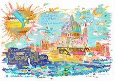 #0577-1 #バレッタの市街 #マルタ共和国 City of #Valletta _ Republic of Malta_ East, South Europe _ Cultural _ Island of #Malta_ (i)(vi)_ N35 54 2.016 E14 30 51.984_ 1980_ Property:56ha_ Ref:131