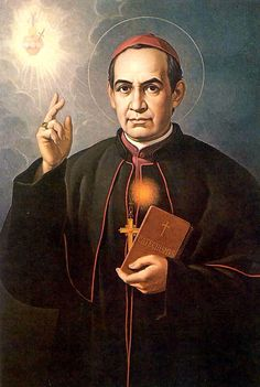 """""""Those who burn with the fire of Divine Love are children of the Immaculate Heart of Mary, and wherever they go they enkindle that flame. Nothing distresses them; they rejoice in poverty, labor strenuously, welcome hardships, laugh off false accusations, and rejoice in anguish."""" - St. Anthony Claret"""