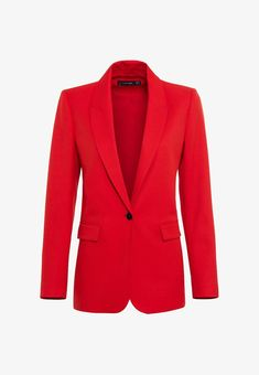 Blazer, Red And Pink, Jackets, Style, Material, Women, Products, Fashion, Fashion Ideas