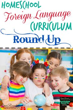 Homeschool Foreign Language Curriculum Round Up - http://www.yearroundhomeschooling.com/homeschool-foreign-language-curriculum-round-up/