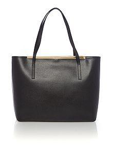 70fc1140af0c Black large saffiano leather tote bag Luggage Sale