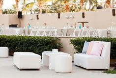 Love the white couches