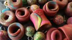 Handmade Beads for Dreamcatchers and Dreadlocks by spitfaced on Etsy