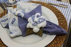 Detalhes de Festa: Batizado Azul III - Mesa de convidados