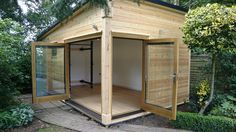 Accoya doors open Door Opener, Shed, Outdoor Structures, Doors, Projects, Furniture, Home Decor, Log Projects, Lean To Shed