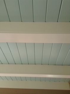 blue ceilings | BM, Woodlawn Blue HC-147 (Haints Blue Porch Ceiling) | For the Home