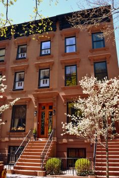 Springtime Love in New York City --a beautiful Brooklyn brownstone home