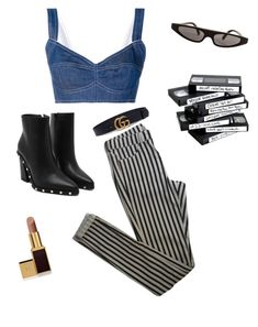 """""""Not today"""" by imnotjordan on Polyvore featuring Dolce&Gabbana, Topshop, Gucci and Tom Ford"""