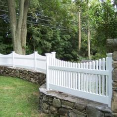 Victorian Fence Victorian Picket Fence Set On Stone Wall