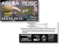 Arena Music - Extreme (Convite)