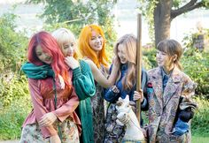 Red Velvet came to fame with an unconventional sound and loyal female following – they tell us what two years as one of K-Pop's most successful young acts has taught them 'Russian Roulette' feels like the most mature 'red' Red Velvet lead track so far. What did you each think when you…