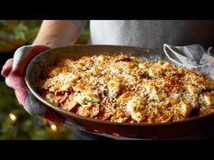 Sweet Potato and Goat's Cheese Gratin   @Waitrose #Recipe