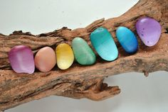 Driftwood + Stones + Paint