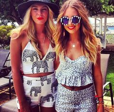 AHHH! That elephant print bathing suit! I NEED IT.  That IS a bathing suit, right?
