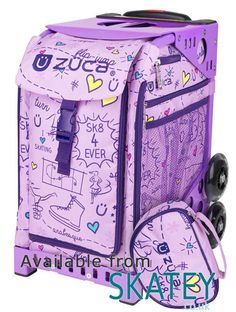 Zuca SK8 Princess Sport Bag. Part of the Zuca collection available to buy from Skatey.co.uk