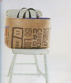 sac toile de jute recyclée