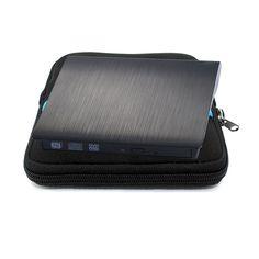 Externe DVD-ROM Lecteur Optique USB 3.0 CD/DVD RW Graveur CD DVD ROM Lecteur Portable Écrivain pour Ordinateur Portable iMACBOOK pc + Lecteur sac