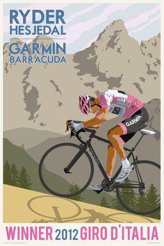 Winner 2012 Giro D'Italia via Tumblr
