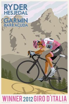 Ryder Hesjedal, Giro Winner. First Canadian to win a grand tour.