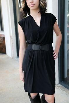 KATELYN Faux-Wrap Dress - Kelly's Closet Boutique  #raidkellyscloset