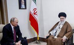 President of Russia Vladimir Putin met with Supreme Leader and spiritual leader of the Islamic Republic of Iran Ayatollah Ali Khamenei during his working visit to Iran. Wladimir Putin, World Leaders, Iran, Spirituality, Islamic, News, Blog, Spiritual