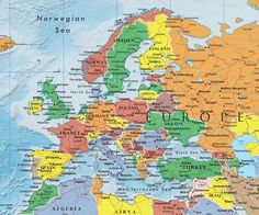 How many countries in the world of 7 continents and 5 oceans Old World Maps, Vintage World Maps, List Of All Countries, World Map Printable, European Map, Europe Continent, 7 Continents, Country Maps, World Geography