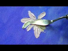Ромашки мастихином. Урок живописи маслом с Татьяной Букреевой - YouTube