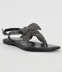 d0b6020de6dc Naughty Monkey Jeweled Delight Sandal - Women s Shoes in Pewter