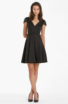 JS Boutique Embellished Fit & Flare Dress available at #Nordstrom