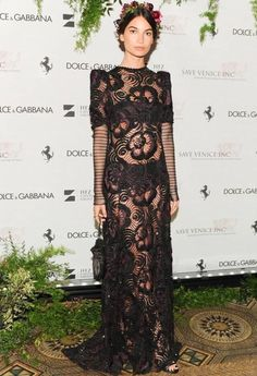 Toute n transparence Dolce Gabbana