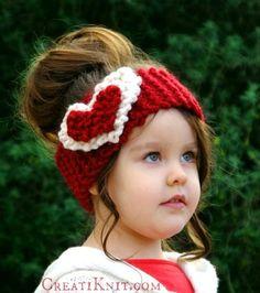 The Heart Head Warmer –  Free knitting pattern!