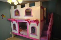 Castle Bunk Bed | Do It Yourself Home Projects from Ana White