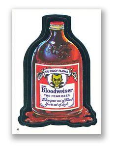 Bloodweiser beer