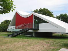 Serpentine Gallery Pavilion - Oscar Niemeyer   Ephemeral architecture