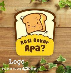 Desain Logo Makanan Unik Desain Logo Makanan Ringan Desain Logo