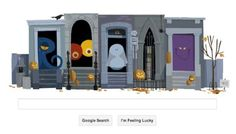 Google Wishes the World With an Eerie Halloween Doodle!